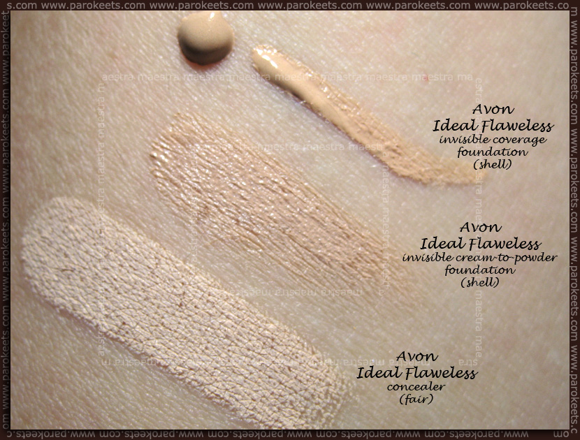 Project foundation: Avon - Ideal Flawless line