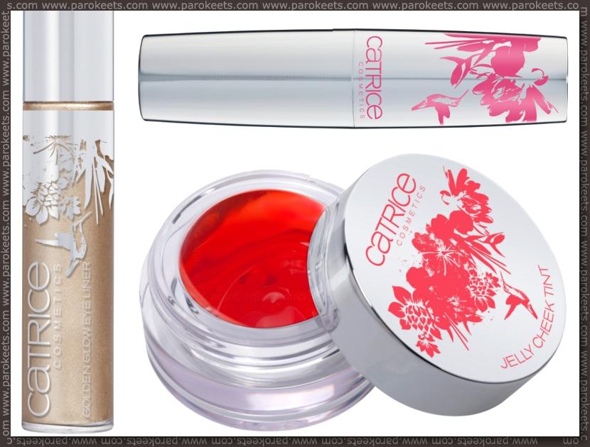 Catrice Coolibri LE: cheek tint, golden glow, lip balm preview