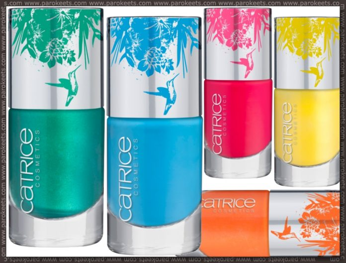 Catrice Coolibri LE nail polishes preview
