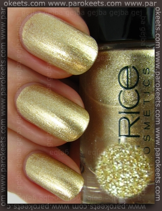Catrice Goldfinger swatch by Parokeets