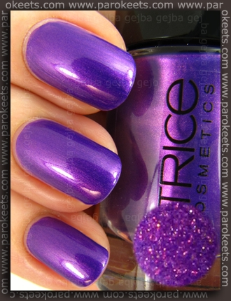 Catrice Heavy Metallilac swatch by Parokeets