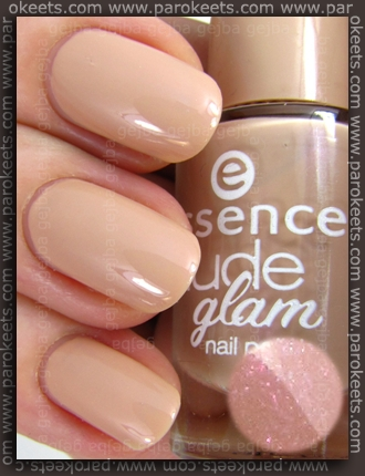 Essence Nude Glam - Hazelnut Cream Pie