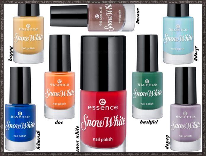 Essence Snow White TE - nail polishes