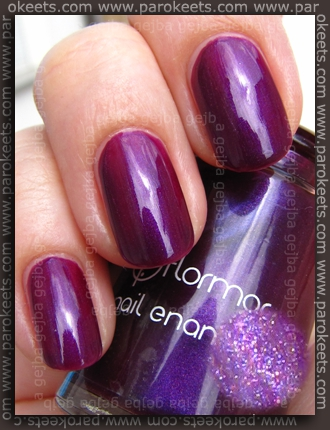 Flormar nail polish no. 411 (kind of sun)