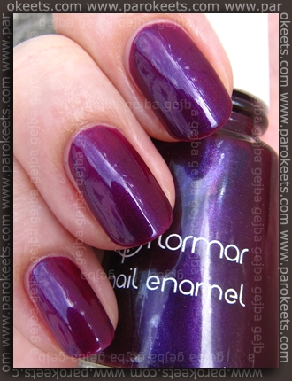 Flormar nail polish no. 411 (shade)