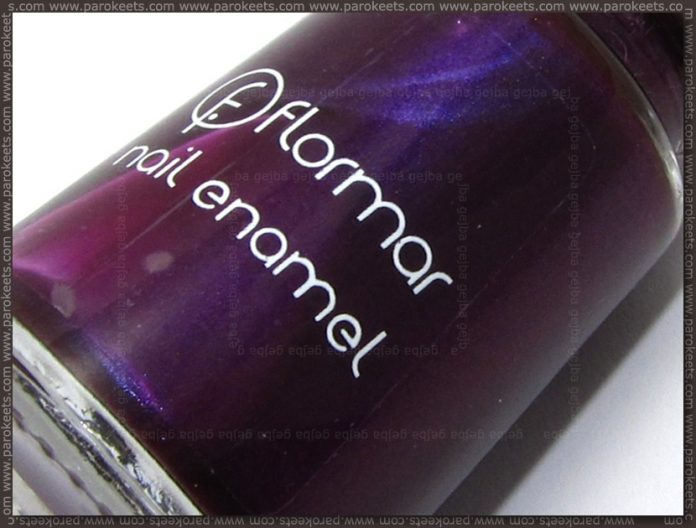 Flormar nail polish no. 411 bottle