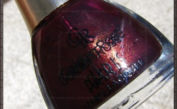 Golden Rose Paris nail polish no. 82 bottle