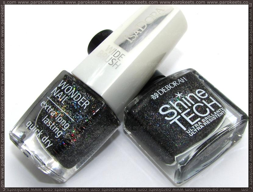 IsaDora Black Galaxy, Deborah Shine Tech 18