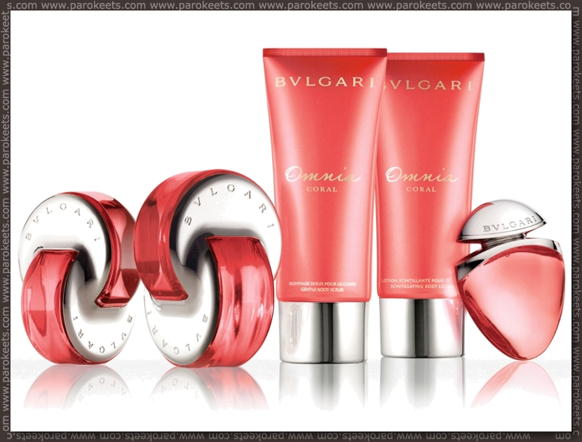 Parokeet news April 2012 - Bvlgari Omnia Coral