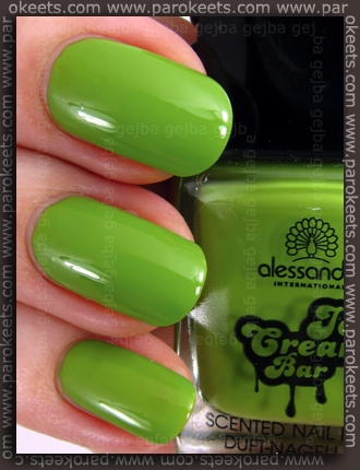 Alessandro Ice Cream Bar LE - Lime-Vanilla nail polish