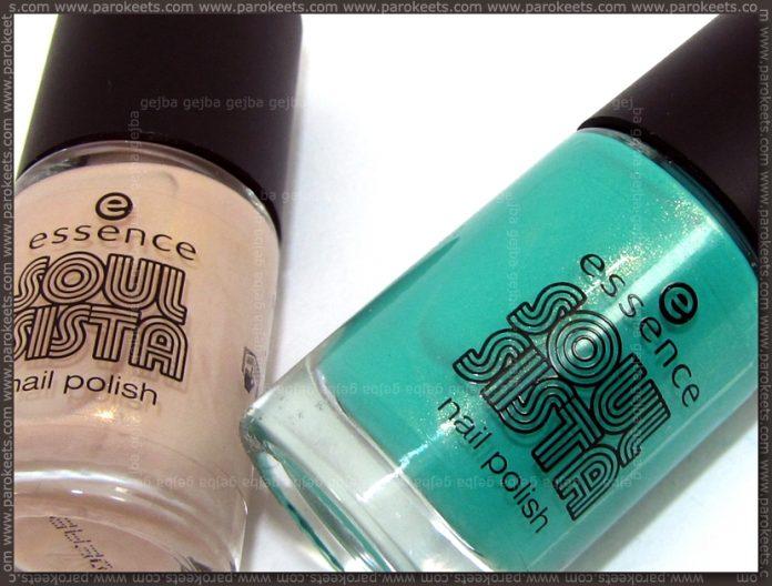 Essence Soul Sista TE: Totally Retro Nude, Mojito Green