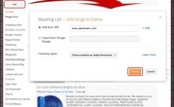 Follow Parokeets with GFC reader
