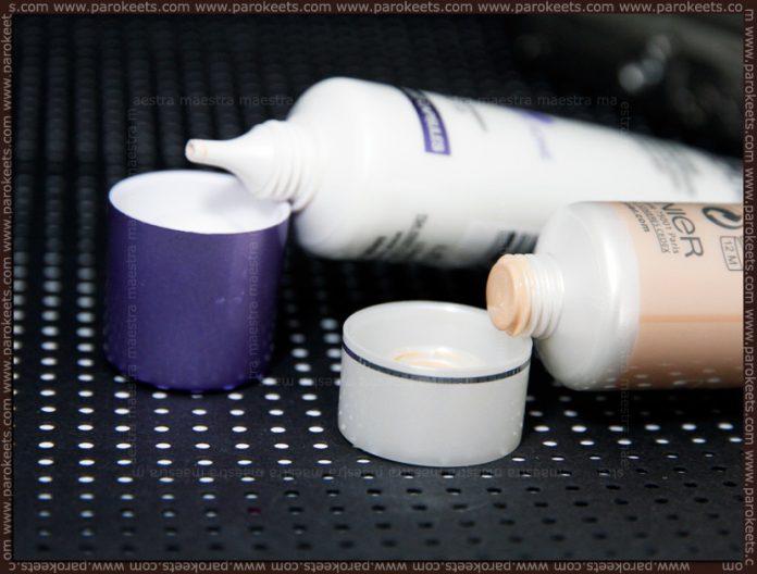 Garnier - Blemish Balm vs Loreal - Nude Magique (BB cream comparison)