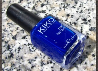 Kiko Blu Inchiostro nail polish (no. 335)