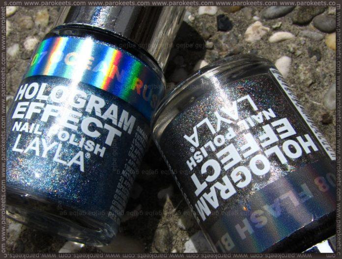 Layla Hologram Effect: Ocean Rush, Flash Black