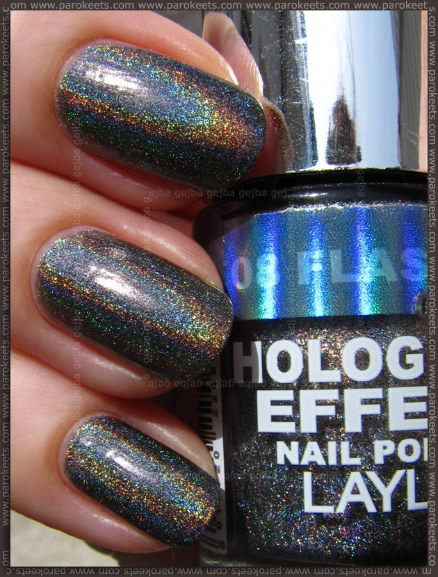 Layla Hologram Effect Flash Black