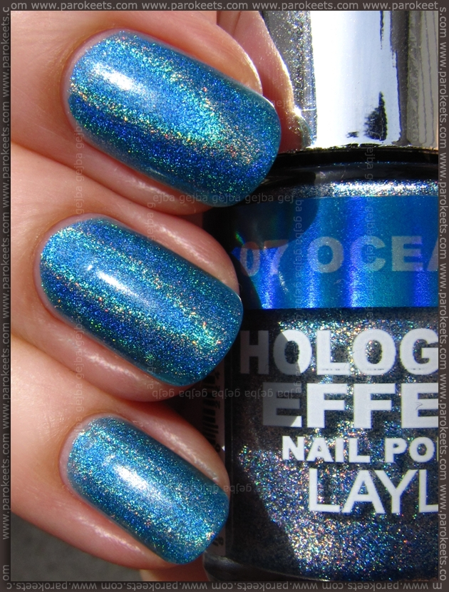 Layla Hologram Effect Ocean Rush