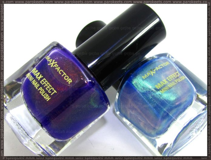 Max Factor - Max Effect: Fantasy Fire, Dazzling Blue