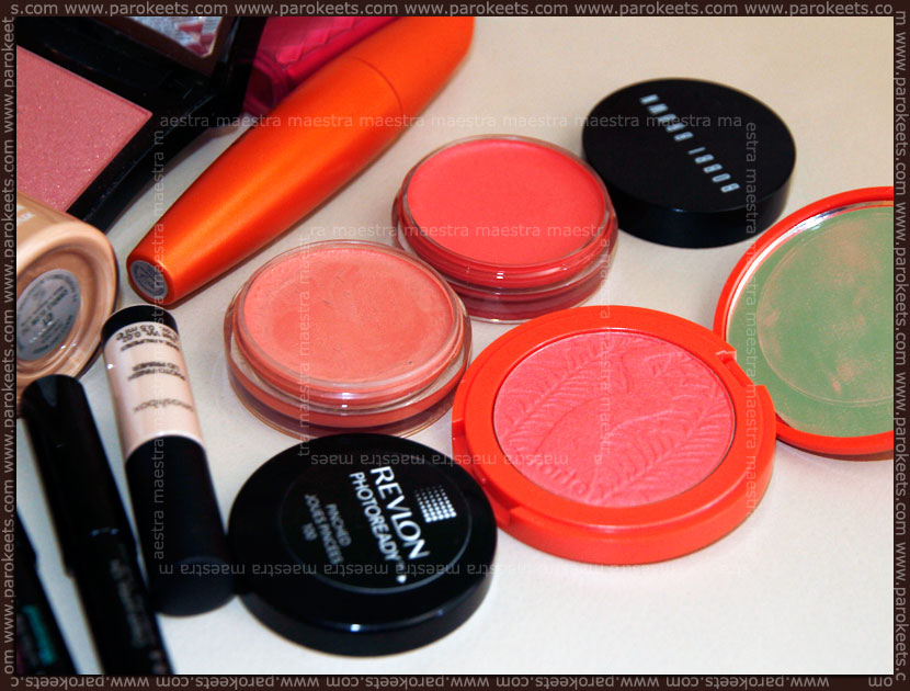 Make up haul: Bobbi Brown, Tarte, Revlon blushes