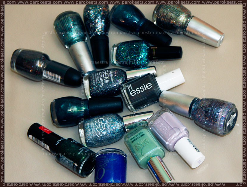 USA 2012 nail polish haul