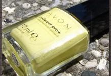 Avon Lemon Sugar nail polish bottle