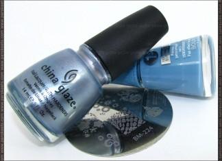 Bourjois 1 Seconde Gel Bleu Water + China Glaze Sci-Fi + Bundle Monster 224