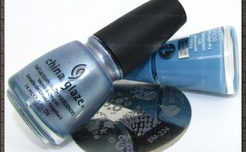 Bourjois 1 Seconde Gel Bleu Water + China Glaze Sci-Fi + Bundle Monster 224