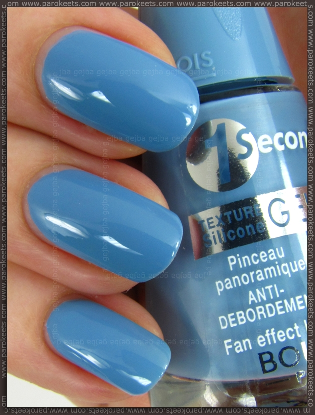 Bourjois 1 Seconde Gel - Bleu Water nail polish