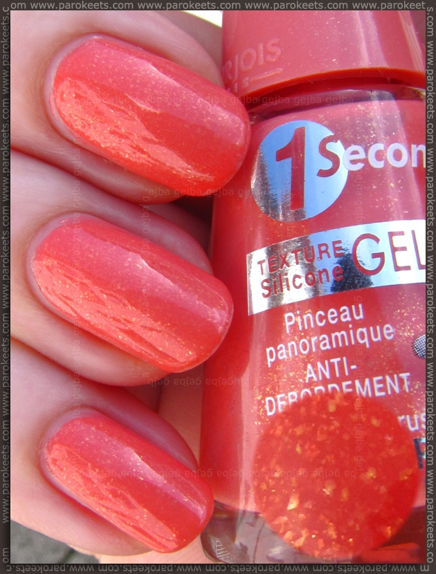 Bourjois 1 Seconde Gel - Corail Magique nail polish