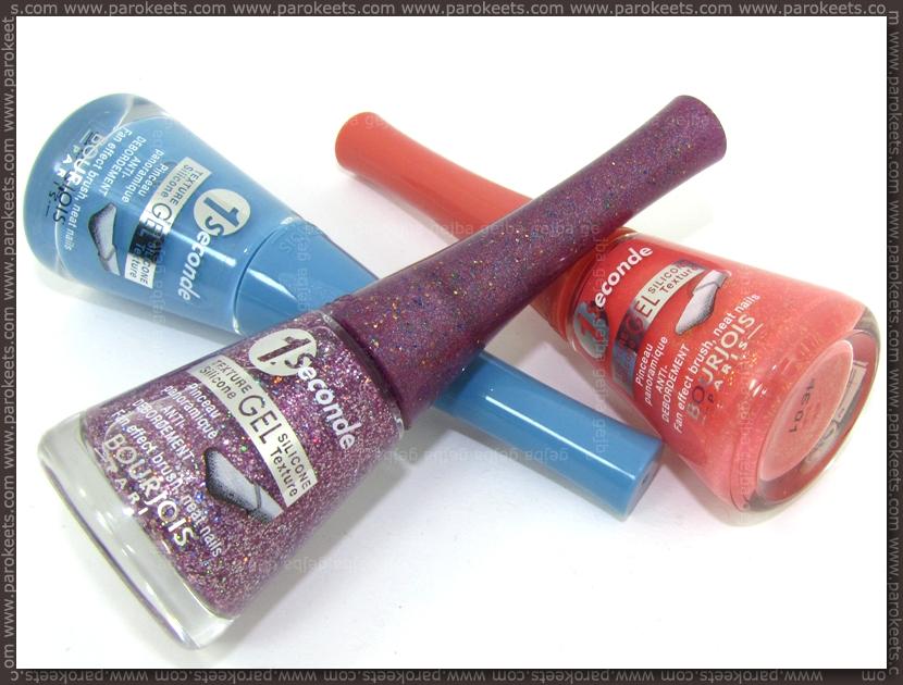 Bourjois 1 Seconde Gel nail polishes