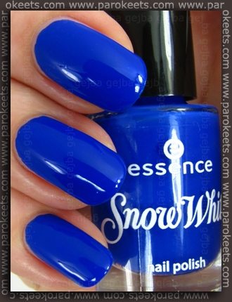 Essence Snow White TE - Grumpy nail polish