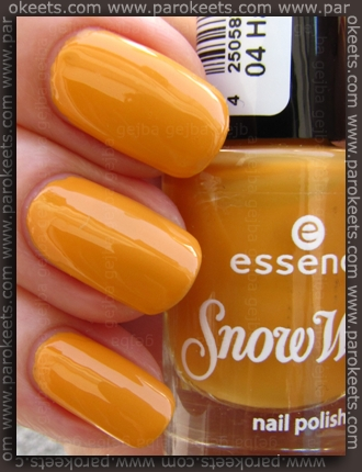 Essence Snow White TE - Happy nail polish