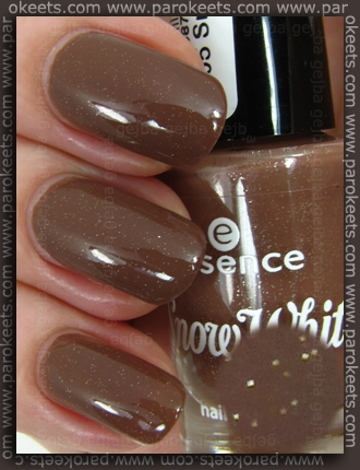 Essence Snow White TE - Sneezy nail polish