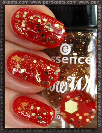 Essence Snow White TE - The Huntsman topper nail polish