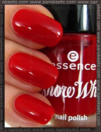 Essence Snow White nail polish