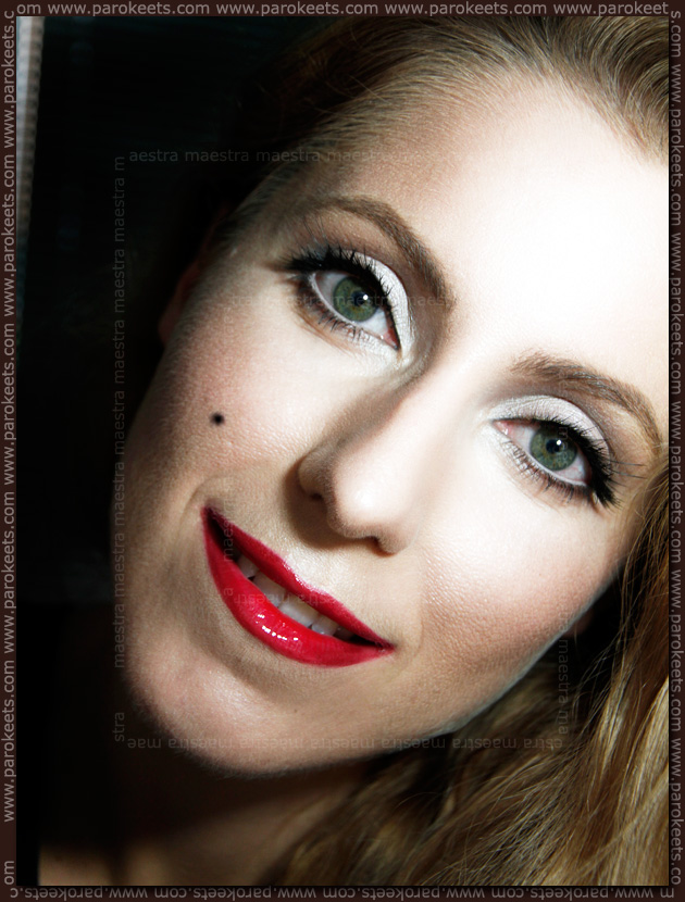 Marilyn Monroe inspired makeup look by Maestra