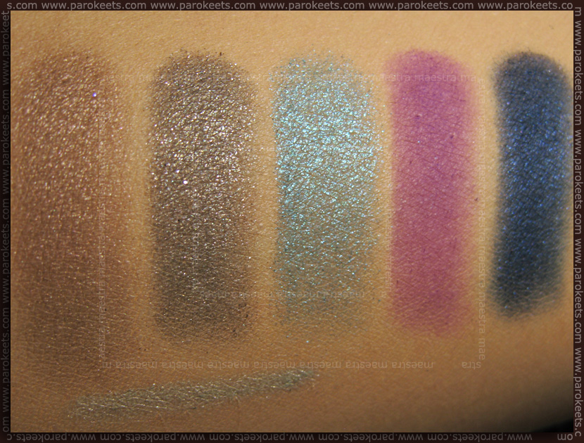 Pupa swatches