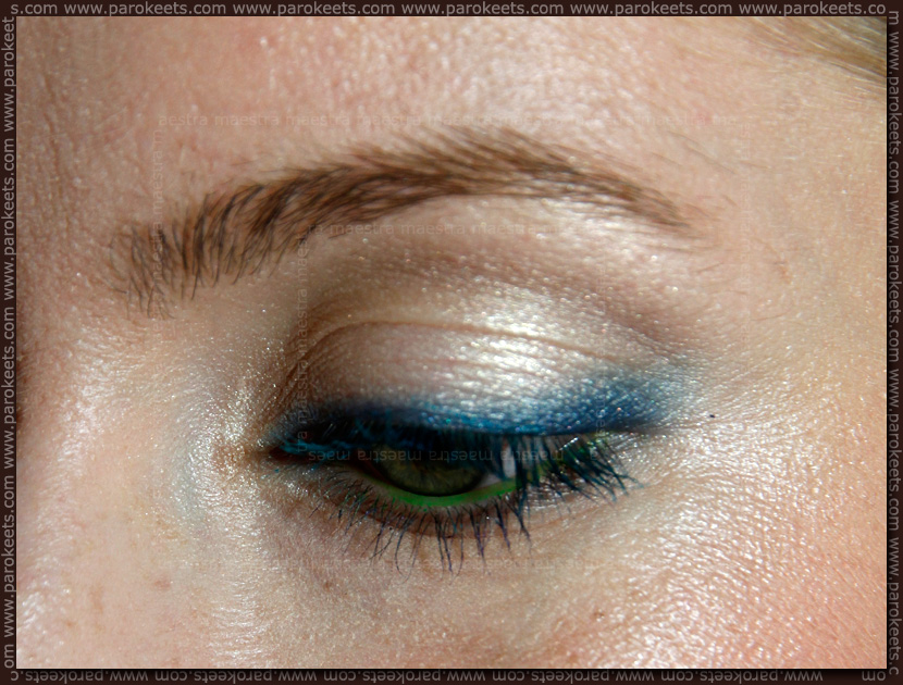 EOTD: Summery Naked Stranger makeup look by Maestra