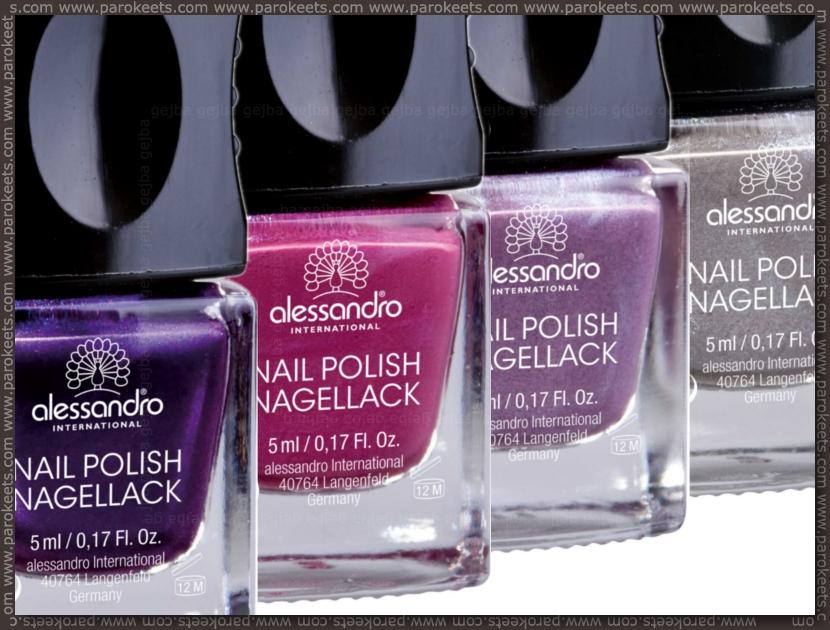 Alessandro Adore Me: Purple Haze, Mystic Velvet, Sophisticated Mauve, Shadow Street