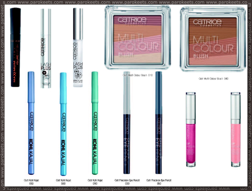 Catrice fall 2012 going away products - eyeliners, Lash Plus, lipglosses