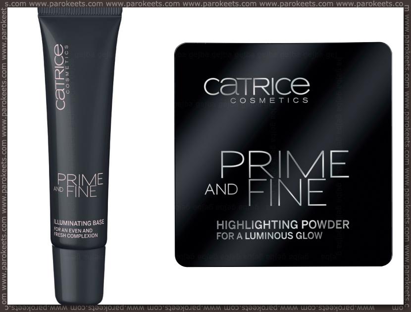 Catrice new products fall 2012 - Illuminating base, Highlighting powder