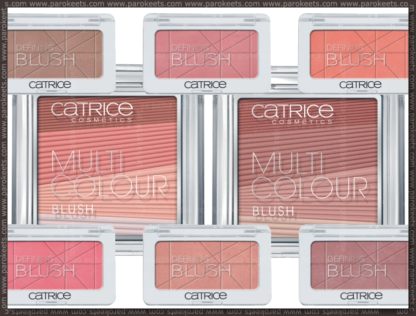 Catrice new products fall 2012 - blushes