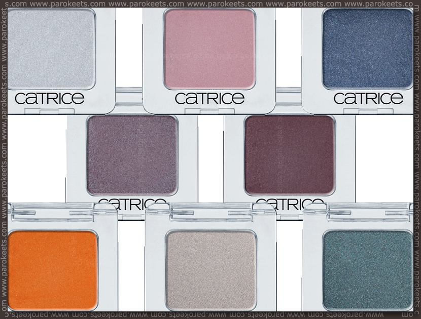 Catrice new products fall 2012 - eyeshadows