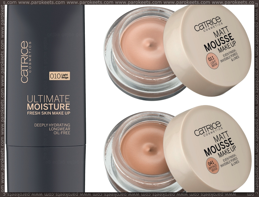 Catrice new products fall 2012 - foundations