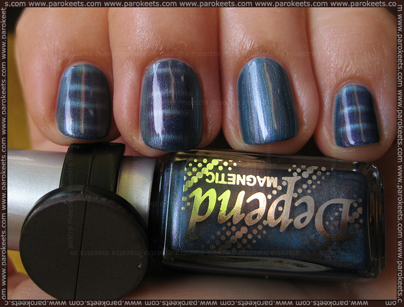 Swatch: Depend - 6008 Magnetic nail polishes