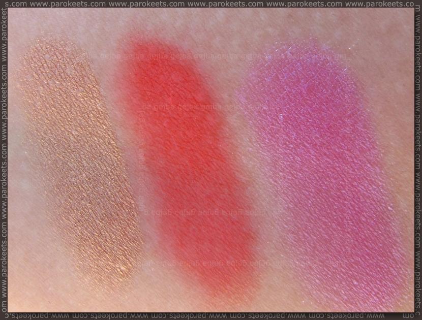 Essence Colour Arts pigments - 02, 06, 12