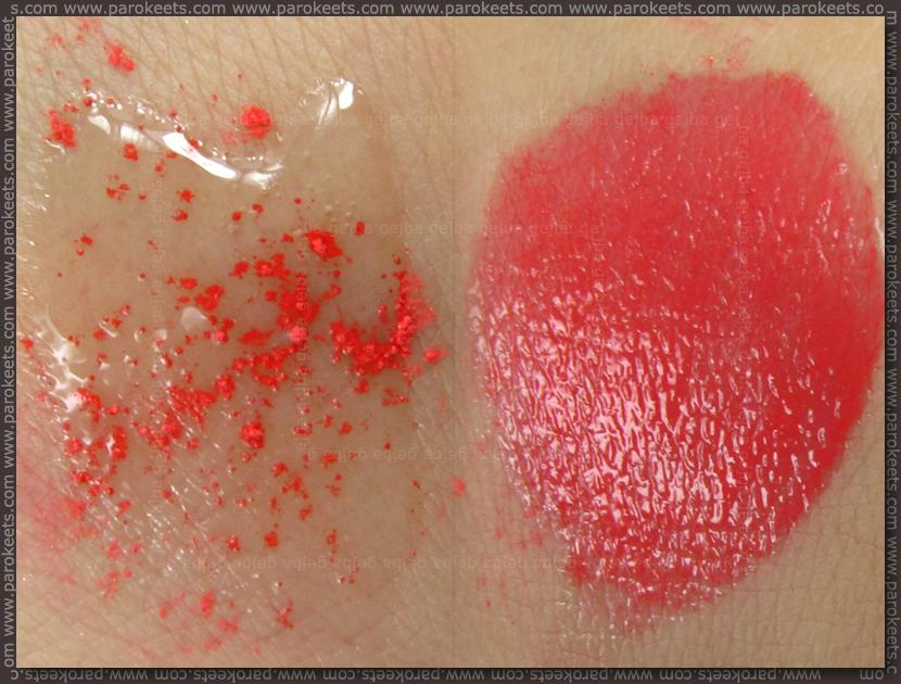 Essence Colour Arts: pigment 06 + lip base
