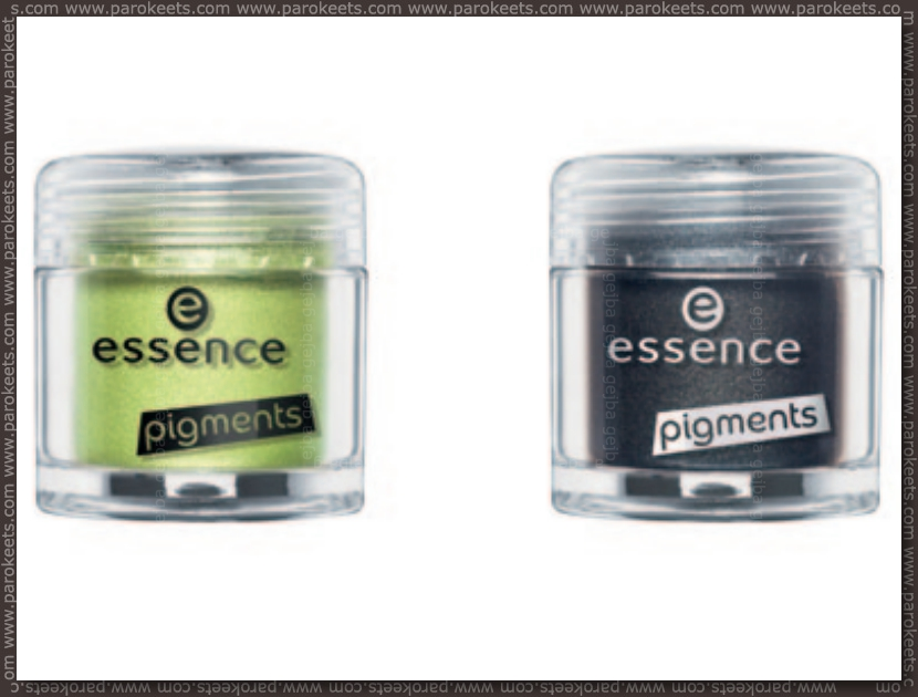 Essence Colour Arts pigments: 19, 20