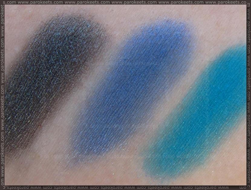 Essence Colour Arts pigments - 20, 17, 18