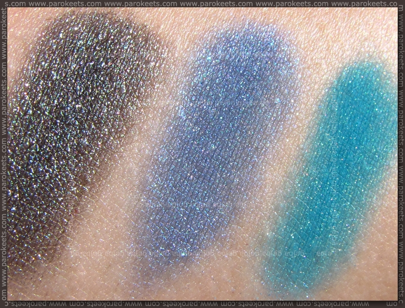 Essence Colour Arts pigments - 20, 17, 18 sun